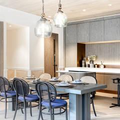Artist's Craftland Modern dining room by Lot Architects Ltd Modern