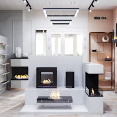 Scandinavian style offices & stores by DesignNika Scandinavian