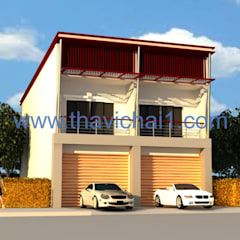 Town home 2 nd โดย PROFILE INTERIOR STUDIO โมเดิร์น คอนกรีตเสริมแรง