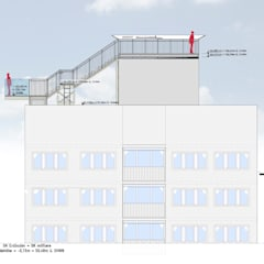 Locais de eventos industriais por Müllers Büro Industrial Ferro/Aço