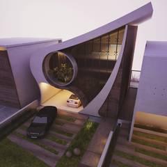 من THGO arquitetura e design إنتقائي خرسانة مسلحة