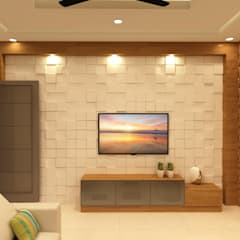 Azjatycki salon od SD Interiors & Modulars Azjatycki