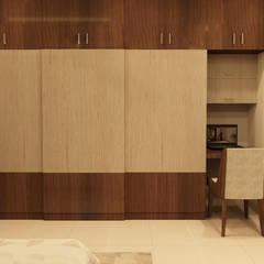 Azjatycka sypialnia od SD Interiors & Modulars Azjatycki