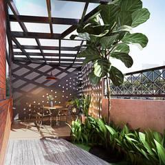 Rumah Ayu Oleh GUBAH RUANG studio Tropis