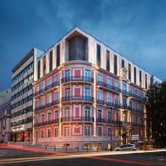 Fotografia de Arquitetura Hotéis rústicos por André Boto Fotografia Rústico