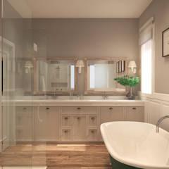 Phòng tắm phong cách thực dân bởi Alicia Peláez Sevilla - Interiorismo y Decoración Thực dân
