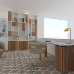 Modern study/office by Donna - Exclusividade e Design Modern