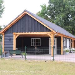de HAVA | Houtbouw - tuininrichting Rural Madera Acabado en madera