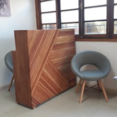 Mueble Recepción de Taller Carpintería Massive Clásico Madera maciza Multicolor