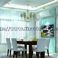 by PROFILE INTERIOR STUDIO Eclectic پلائیووڈ