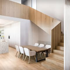 من Srta. Rottenmeier Estudio de Arquitectura بحر أبيض متوسط خشب Wood effect