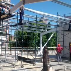 Reforma y ampliación Colegio San Martín de Tours   Ciudad de Buenos Aires Escuelas de estilo moderno de REZ Arquitectura   Diseño   Construcción Moderno