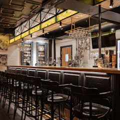 Industrial style bars & clubs by Carmine Home Industrial