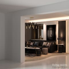 Tampines St 43 Classic style living room by Swish Design Works Classic