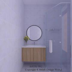 Queen's Road Scandinavian style bathroom by Swish Design Works Scandinavian