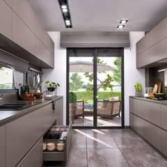 Primus Villa Güzelbahçe Modern Mutfak VERO CONCEPT MİMARLIK Modern