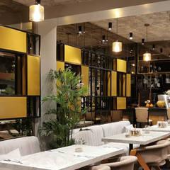 Industrial style gastronomy by LIA Mimarlik İcmimarlik Industrial