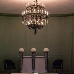 Salones de eventos de estilo clásico de Isa Moss Clásico Vidrio