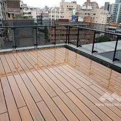 de 新綠境實業有限公司 Ecléctico Compuestos de madera y plástico