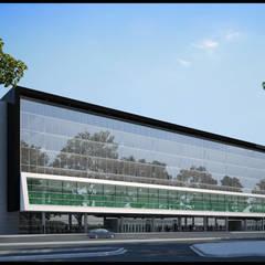 من REZ Arquitectura | Diseño | Construcción حداثي