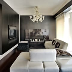 Ruang Keluarga Modern Oleh Altro_Studio Modern Kayu Wood effect
