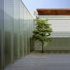 Mediterranean style conservatory by Altro_Studio Mediterranean