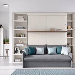 La prima casa di L&M design di Marelli Cinzia Moderno Legno composito Trasparente
