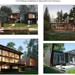 Hoteles de estilo minimalista de Студия Комплексного Дизайна Minimalista