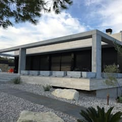 by JORGE ESQUER ARQUITECTO Minimalist کنکریٹ