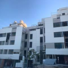 Fachada ventilada Alcobendas Edificios de oficinas de estilo moderno de Marbag C.B Moderno