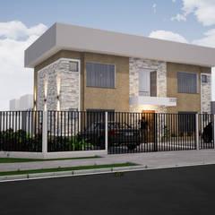 Quitinetes (Studios) por Danilo Rodrigues Arquitetura Moderno