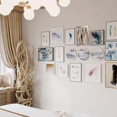 ЛЕГКОЕ ВООБРАЖЕНИЕ Спальня в эклектичном стиле от Дизайн студия Алёны Чекалиной Эклектичный
