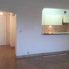 Remodelação em Alvor Cozinhas rústicas por CR PRO Rústico