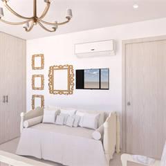 من DIKTURE Arquitectura + Diseño Interior حداثي خشب Wood effect