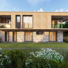 de Design3s Ecléctico Madera Acabado en madera