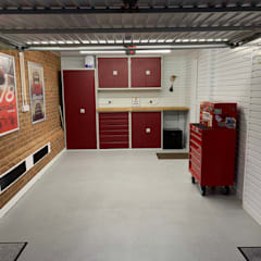 This Kent garage now has the WOW factor by Garageflex Modern