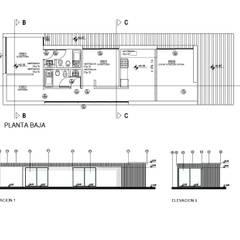 من REZ Arquitectura | Diseño | Construcción صناعي