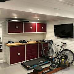 Ready to create your own Home Gym? من Garageflex حداثي