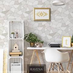 Colección de Papel Tapiz More Paredes y pisos de estilo moderno de Decora Pro Moderno