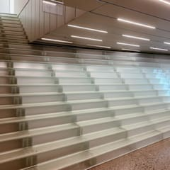 Modern museums by Siller Treppen/Stairs/Scale Modern Glass