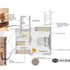 van MIDA Minimalistisch Beton