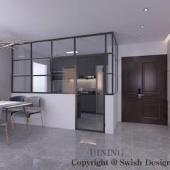 4-room BTO flat Modern dining room by Swish Design Works Modern