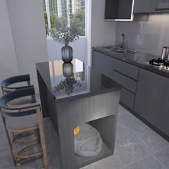 4-room BTO flat by Swish Design Works Modern Plywood