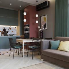 by SAPAROVA design interior Eclectic ٹائلیں