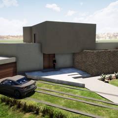 by Casas del Girasol- arquitecto Viña del mar Valparaiso Santiago Mediterranean کنکریٹ
