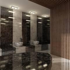 Holiday Inn - Hamam Projesi Rustik Banyo KUT İÇ MİMARLIK Rustik Granit