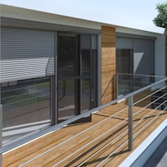 Puertas y ventanas clásicas de Szulzyk- Bauelemente Clásico Aluminio/Cinc