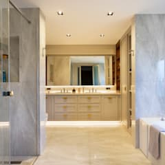 Zekeriyaköy Villa Projesi Modern Banyo Monlab Design Modern