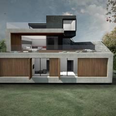 Casa Mirante, São Paulo/SP por RAWI Arquitetura + Design Minimalista Concreto