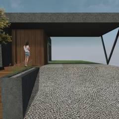 Oleh RAWI Arquitetura + Design Minimalis Beton
